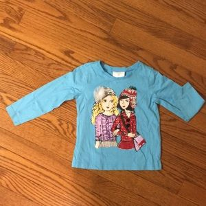 Hanna Anderson's long sleeve T-shirt size 90